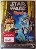 Star Wars Animated Adventures - Ewoks (DVD,2004) R1 /NTSC/ RARE/ Factory sealed!