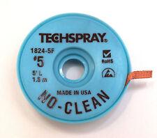 NO-CLEAN Entlötlitze 3,3mm breit, 1,5m auf ESD-Rolle, Hochwertig, Made in USA