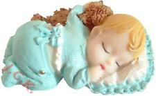 Boys christening 1st birthday new baby resin cake cupcake topper decoration no2