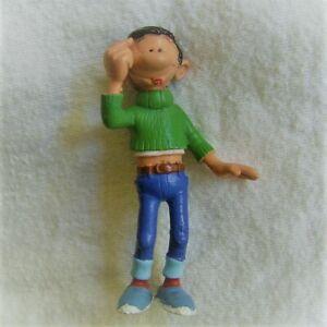 Gaston hat eine Idee, Hand am Kopf : Comic Figur von Plastoy, 1991 Dupuis, neu