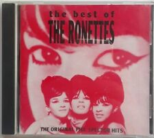The Best of the Ronettes CD 1992 ABKCO Records Spector Girl Groups Be My Baby