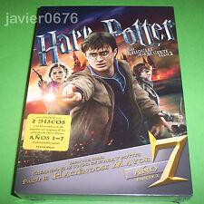 HARRY POTTER Y LAS RELIQUIAS DE LA MUERTE PARTE 2 - DVD NUEVO Y PRECINTADO LIBRO