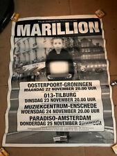 Marillion Tour Poster - .com Tour Netherlands 1999