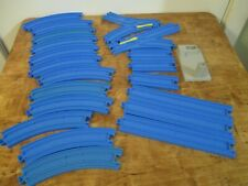TOMY Thomas Train (Plarail - BLUE track)  CURVED TRACKS lot of 21 pieces