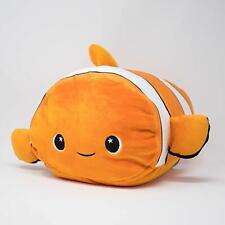 "Moosh-Moosh 12"" Soft Squishy Pillow Pet Plush Stuffed Animal, FINSTER (NEMO)"