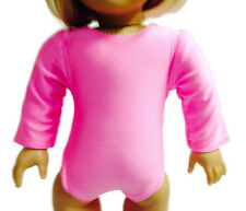 Doll Clothes fits 18 inch American Girl Pink Leotard Gymnastics
