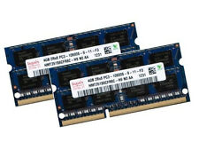 2x 4GB 8GB Kit DDR3 1333 Mhz Notebook SO DIMM RAM PC3-10600S Laptop 1.5V Hynix