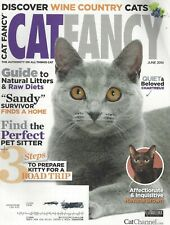 Cat Fancy (Jun 2014) How to Prepare Kitty for a Road Trip ~ Chartreux ~ G644