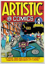 ARTISTIC COMICS, Robert Crumb, Special Collectors Issue, 1995 Kitchen Sink Press