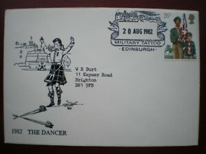 ARMY COVER 1982 EDINBURGH TATTOO - THE DANCER