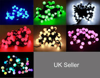 5M/10M Cherry Christmas Tree Party Wedding String Fairy LED lights UK Plug