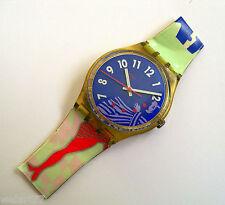 Swatch GK147 GRUAU Armbanduhr 1992 ETA Quarzwerk  OHNE ARMBAND !!! defekt !!!