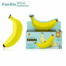 FanXin Banana Fruit Shape Speed Magic Cube Puzzle Cube Toys Gift Brain Teaser