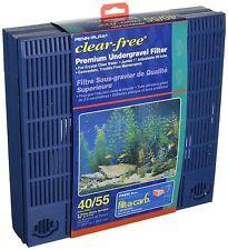 Penn-Plax Clear Free Premium Undergravel Filter for tank 40/55 (11.5 x 46)