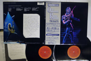 OZZY OSBORNE RANDY RHOADS TRIBUTE CBS/SONY 35AP 3344,5 JAPAN OBI VINYL 2LP
