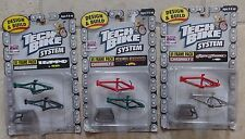 Tech Deck 3 - Design & Build Bike System U1 Frame Pack Sets MOC NEW 1999