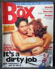 the Box June July 1997 TV Magazine, gillian anderson/david duchovny in bed cover