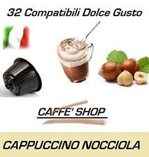 """32 Capsule Compatibili Nescafè Dolce Gusto® Miscela """"Cappuccino alla Nocciola"""""""