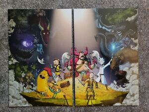 Rick And Morty Vs Dungeons & Dragons #1 NYCC Connecting Cover Set IDW Oni Press