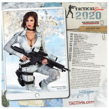 Tactical Girls 2020 Gun Calendar Soldier Sailor Marine LEO Shooter Airsoft gift