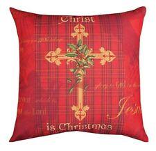 Christ est Noël 45.7cm carré oreiller