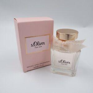 S.Oliver For Her Eau de Parfum 30ml neu OVP (Grundpreis 56,50€/100ml)