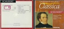 CD - DE AGOSTINI  I GRANDI MAESTRI DELLA MUSICA  -  SCHUBERT               (500)