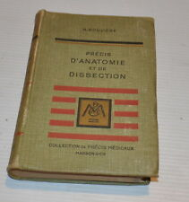 Precis D'ANATOMIE et de DISSECTION H. ROUVIERE Anatomy FRENCH BOOK 1949