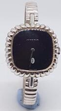 STUNNING QUALITY JUVENIA LADIES SOLID SILVER BANGLE WATCH 1970