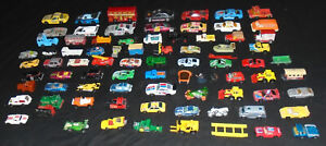 76 X Vintage Joblot Collection Matchbox Dinky Hotwheels Corgi Trucks Cars Toys