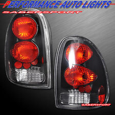 96-00 CARAVAN VOYAGER TOWN & COUNTRY / 98-03 DURANGO ALTEZZA TAIL LIGHTS BLACK