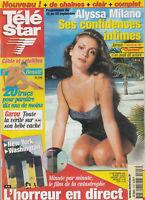 """Télé Star N º 1303 - 17/09/2001 - Alyssa Milano - Hairy - el 11 Septiembre 2001"""""""