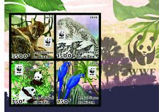 Stamps  Fauna WWF  imperforated