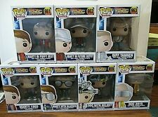 Back To The Future FUNKO POP! 7 Figure Complete Set NEW!!!!