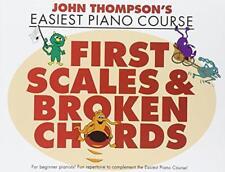JOHN thompson's Easiest Piano Course: PRIMERO Scales & Broken Chords por Jo