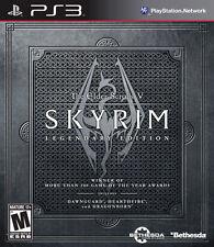 The Elder Scrolls V: Skyrim -- Legendary Edition (Sony PlayStation 3, 2013)