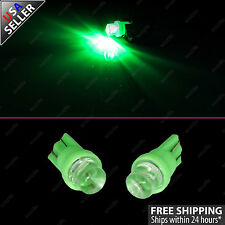 2pc GREEN Guage Gauge Cluster Instrument Speedometer LED Lights Bulbs
