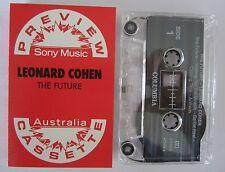 LEONARD COHEN THE FUTURE SONY PREVIEW AUSTRALIAN CASSETTE TAPE