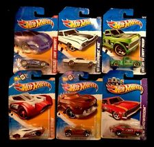 Hot Wheels Lot Of 6 Unopened ( See List In Discription)