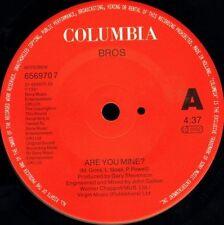 "BROS are you mine/instrumental mix 656970 7 dutch columbia 1991 7"" WS EX/"