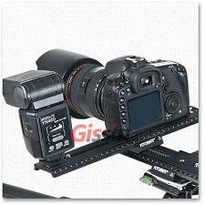 4 way Macro Shot Focus Rail Slider tripod head LP-02+LP-03 f DSLR camera & flash