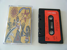 MIDNIGHT OIL EARTH AND SUN AND MOON CASSETTE TAPE 1993 PAPER LABEL COLUMBIA UK