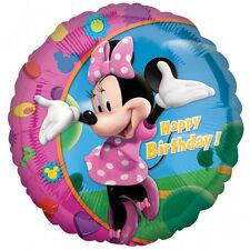 Minnie Mouse Joyeux Anniversaire 45cm ballon foil