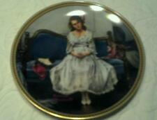 "Norman Rockwell ""Waiting At The Dance"" Collector Plate with Coa"