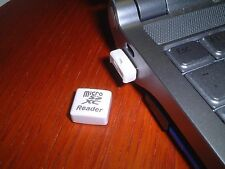 microSDXC reader USB flash card reader , tiny , Nano Reader RD.sdxc-white