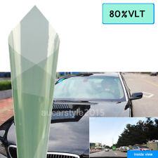 76CMx1.5M Light Green Window Tint 80% VLT Car Windscreen House Glass Solar Films