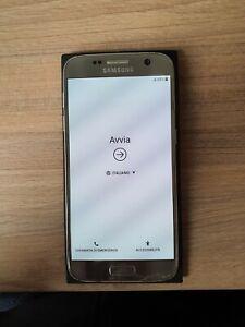 Samsung Galaxy S7 - 32GB - Argento - Vetro posteriore da sostituire
