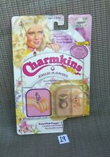 Vintage Hasbro Charmkins Doll Jewelry *VHTF MIP Petal Pink Puppy Ring Charmkin*