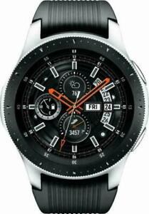 Samsung Galaxy Watch SM-R800 - WiFi - 46mm Silver Case Black Strap Smart Watch