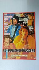 The Rolling Stones European Tour rock roll pop vintage music postcard CARD